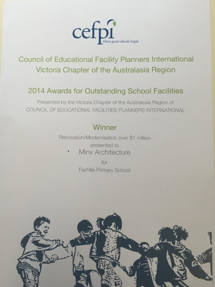 cefpi award 2014